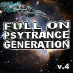 VARIOUS - Full On Psytrance Generation V4 (Front Cover)
