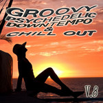 VARIOUS - Groovy Psychedelic Downtempo & Chill Out Vol 8 (Front Cover)