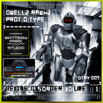 PROTOTYPE/DWELLZ RAWKZ - Battery Disorder # 1 (Front Cover)