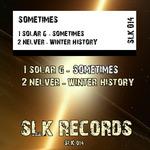 SOLAR G/NELVER - Sometimes (Back Cover)