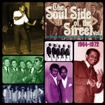 VARIOUS - The Soul Side Of The Street Vol 1 (Hot Phoenix Soul Sides From The Vault Of Hadley Murrell 1964-1972) (Front Cover)
