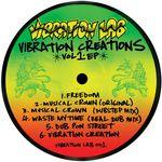 VIBRATION LAB - Vibration Creations Vol 1 EP (Front Cover)