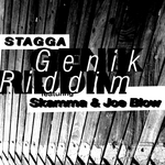 STAGGA feat SKAMMA & JOE BLOW - Genik Riddim EP (Front Cover)