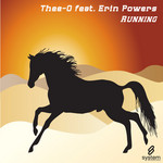 THEE O feat ERIN POWERS - Running (Front Cover)