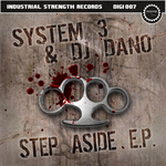 SYSTEM 3 & DJ DANO - Step Aside (Front Cover)