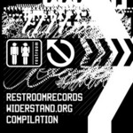 VARIOUS - Restroomrecords Widerstand Org Compilation (Front Cover)