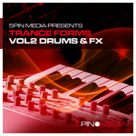 5PIN MEDIA - Trance Forms Vol 2: Drums & FX (Sample Pack WAV/MIDI) (Front Cover)