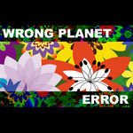 WRONG PLANET - Error (Front Cover)