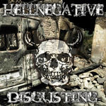 HELLNEGATIVE - Disgusting (Front Cover)