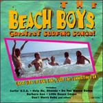 BEACH BOYS, The - Greatest Surfing Songs (USA Only) (Front Cover)