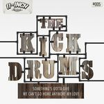 KICKDRUMS, The - Something's Gotta Give EP (Front Cover)