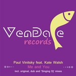 VINITSKY, Paul feat KATE WALSH - Me & You (Front Cover)