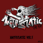 VARIOUS - Ant1static Vol 1 (includes FREE TRACK) (Front Cover)