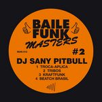 DJ SANY PITBULL - Baile Funk Masters #2 (Front Cover)