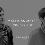 MEYER, Matthias - Retrospective 2005-2010 (Front Cover)