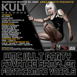 KULT Records Presents WMC 09 Sampler Volume Vocals