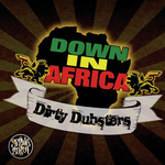 DIRTY DUBSTERS - Down In Africa (Front Cover)