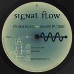 BROKEN RULES - Bounce Factory (Front Cover)