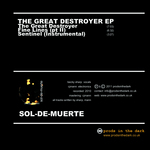 SOL DE MUERTE - The Great Destroyer EP (Back Cover)