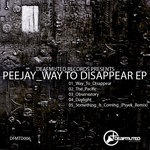 PEEJAY - Way To Disappear EP (Front Cover)
