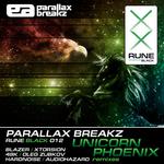 PARALLAX BREAKZ - Unicorn Phoenix (Front Cover)