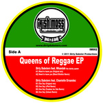 DIRTY DUBSTERS feat WHANDAH/CHANTELLE ERNANDEZ - Queens Of Reggae EP (Front Cover)