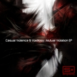 CASUAL VIOLENCE/VOIDLOSS - Mutual Violation EP (Front Cover)