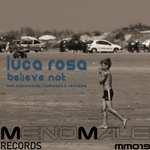ROSA, Luca - Believe Not (Front Cover)