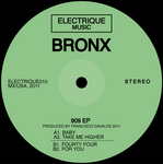 BRONX - 909 EP (Front Cover)