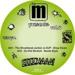 BREAKBEAT JUNKIE, The/DJP/DJ KID STRETCH/STICKYBUDS/NIKO - BigM Presents Vol 8 (Front Cover)