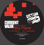 CURRENT VALUE feat SNOW - Shy Flame (Front Cover)