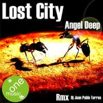 ANGEL DEEP - Lost City (Front Cover)