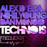 D'ELIA, Alex/NIHIL YOUNG feat A N N A - Techno Is (Front Cover)