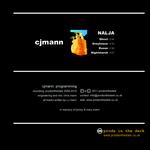 CJMANN - Nalja (Back Cover)
