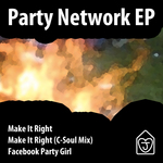 JONNY LOVES HOUSE - Party Network EP (Front Cover)