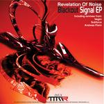 REVELATION OF NOISE - Blackout Signal EP (Back Cover)
