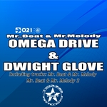 OMEGA DRIVE & DWIGHT GLOVE - Mr Beat & Mr Melody EP (Front Cover)