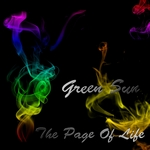 GREEN Sun - The Page Of Life (Front Cover)
