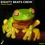 EIGHTY BEATS CREW - Cosmic Frog EP (Front Cover)