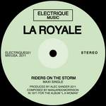 LA ROYALE - Riders On The Storm (Front Cover)