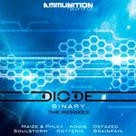 DIODE - Binary EP (remixes) (Front Cover)