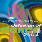 VARIOUS - Definition Of Dance Vol 1 (Front Cover)
