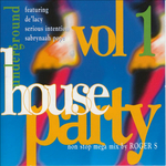 VARIOUS - Underground House Party Vol 1 (Front Cover)