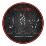 PHUNK DUB - Dope Sleazy n' Uptight EP (Front Cover)