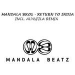 MANDALA BROS - Return To India (Front Cover)