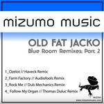 OLD FAT JACKO - Blue Room (remixes Part 2) (Front Cover)