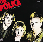 POLICE, The - Outlandos D'Amour (Front Cover)