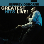 OSBORNE, Jeffrey - Greatest Hits Live! (Front Cover)