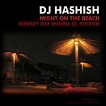 DJ HASHISH - Night On The Beach (Front Cover)