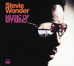 STEVIE WONDER - Music Of My Mind (Front Cover)